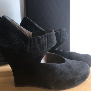 Sale! Marni suede wedges
